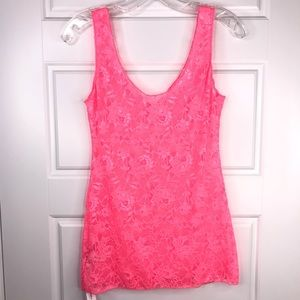 COSABELLA Never Say Never Sheer Lace Cami  NEW M
